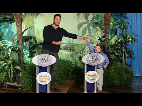 Ellen Replays the Chris Pratt & Noah Ritter Face-Off