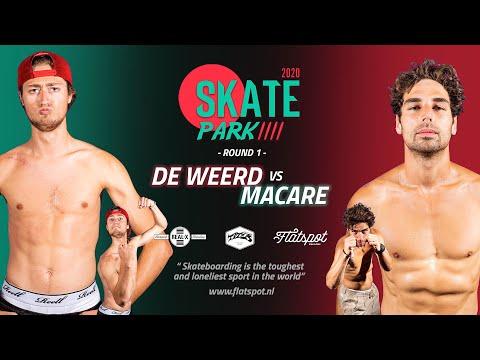 Game of SKATEpark 4 - Game #4 - De Weerd vs Macare