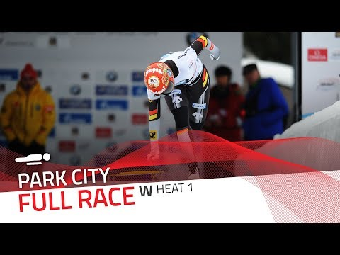 Park City | BMW IBSF World Cup 2017/2018 - Women's Skeleton Heat 1 | IBSF Official