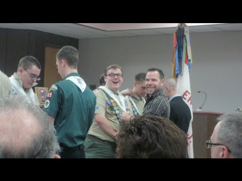 Eagle Scout Ceremony! - March 10, 2014 - danandkelcieTV Vlog