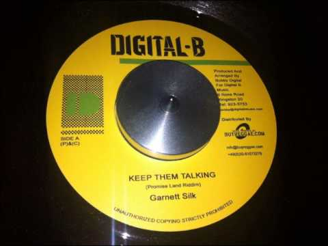 Garnett Silk - Keep Them Talking (Promised Land Riddim) Dub...