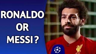 Ronaldo or Messi?   ft. Salah Mbappe Hazard