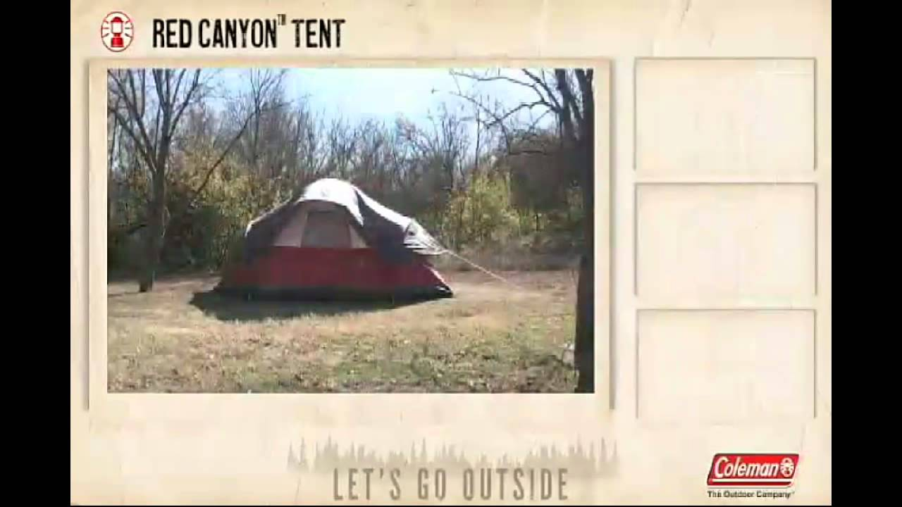 Coleman Red Canyon 17 Foot By 10 Foot 8 Person Dome Tent