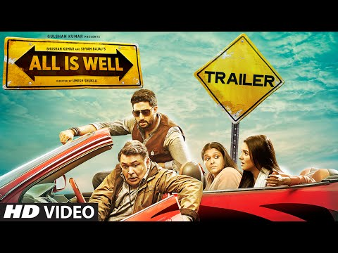 'All Is Well' Official Trailer | Abhishek Bachchan, Asin, Rishi Kapoor, Supriya | T-Series
