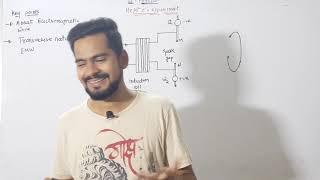 2 . Transverse nature of electromagnetic wave | hertz's experiment