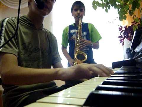 Фортепьяно + битбокс + саксафон ( Музыкальный юмор )
