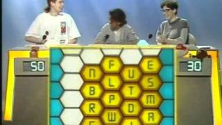 Konnie Huq's Appearance on Blockbusters from 1992 plus Challenge TV Continuity