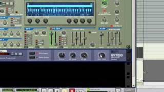 Producing with Reason Tutorial - REASON 4 TUTORIAL - Time stretch effect