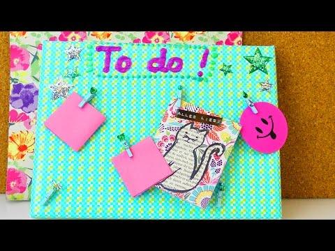 Pinnwand gestalten | To Do Liste selber machen | Organisation | Back to School | Zimmer verschönern