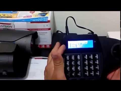 Camara de seguridad Cali control domo ptz con joystick