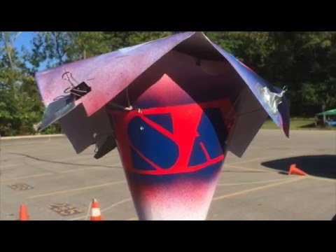 Paper Cone 2.0 Egg Drop (Physics Analysis)