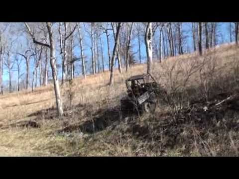 Polaris Ranger EV AWD long hillclimb