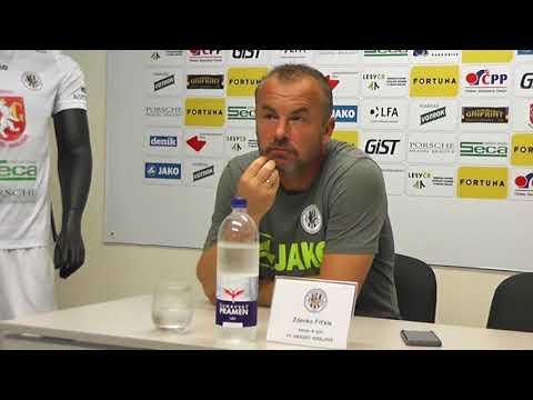Tisková konference po utkání FC Hradec Králové - 1. SC Znojmo 2:1