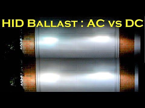 HID Ballast Compare: AC Ballast vs DC Ballast