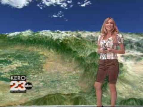 Christina Loren Weather 8/10/07