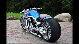 ⭐️⭐️ Harley Davidson V Rod muscle Custom Bike by Fredy motorcycles from Estonia