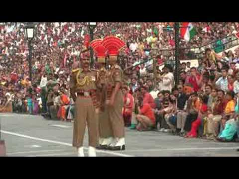 Wagah Border Ceremony video