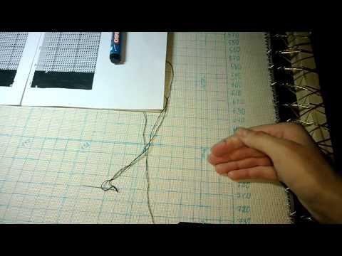 мой первый Голден Кайт (Golden Kite) - вышивка-долгострой, начало работы