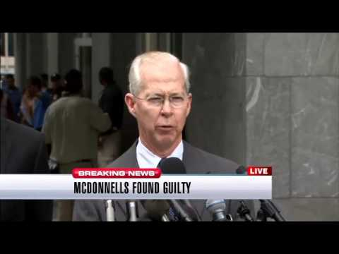 U.S. Attorney, FBI press conference following conviction of Bob and Maureen McDonnell
