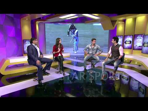 Rj Anmol With Hrithik Roshan Kathrina Kaif & Shoaib Akhtar On Star Sports video