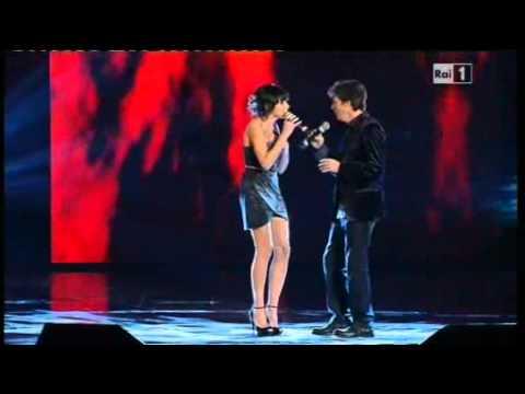 Sanremo 2011 - Luca Barbarossa e Raquel Del Rosario - Fino in fondo