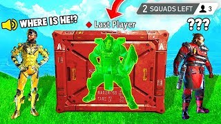LAST PLAYER GLITCHED IN CRATE! (Apex Legends Funniest Moments #7)