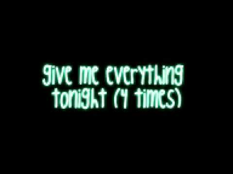 Give Me Everything Tonight   Pitbull ft  Neyo, Nayer & Afrojack w  lyrics on screen & download HD   YouTube