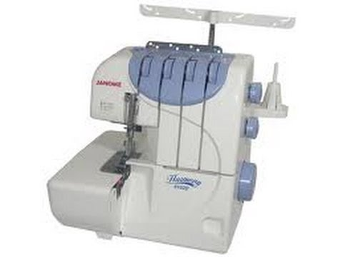 Maquina de coser Overlock Janome 9102D