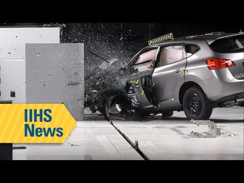 IIHS small overlap test results for small SUVs