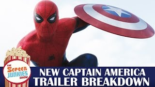 Captain America: Civil War Final Trailer Breakdown - Spider-Man Revealed!