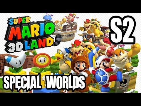 Super Mario 3D Land Gameplay Walkthrough - Part 2 - SPECIAL WORLD 2!! (3DS Gameplay HD)