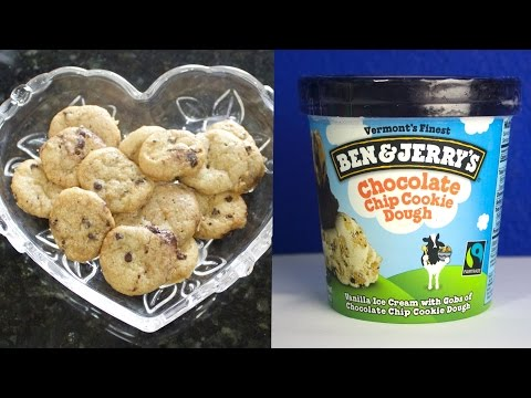 Baking Ben and Jerry's Chocolate Chip Cookie Dough