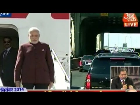 Prime Minister Modi begins his five-day tour in US