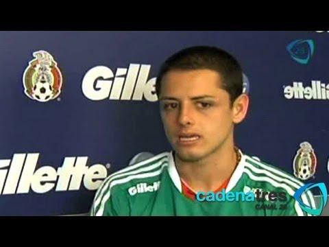 Chicharito está confiado de que México asistirá al Mundial de Brasil 2014