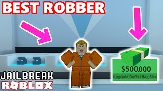 BEST JEWELRY STORE ROBBER IN JAILBREAK! - Roblox Jailbreak Highest Bounty Challenge