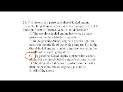 Alternative Energy Exam Q 24