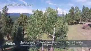 Eagle's Nest Reserve, Evergreen, Colorado, Mountain Property for Sale