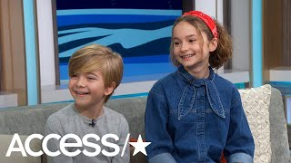 'Mary Poppins Returns': Meet The New Banks Kids! | Access