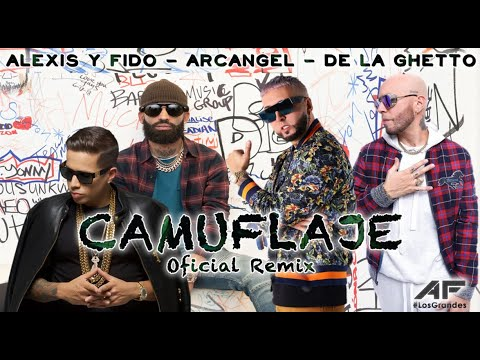 Camuflaje Remix - Alexis & Fido Ft Arcangel & De La Ghetto - 2011® Music Videos