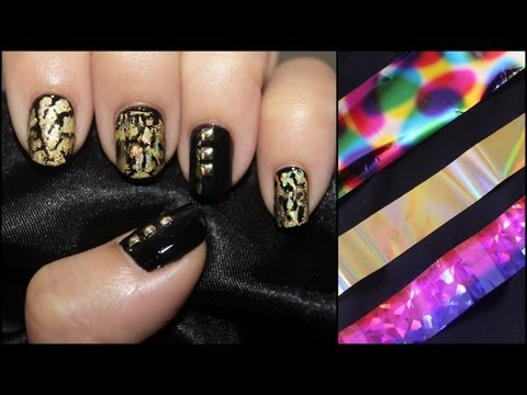 How To Apply NAIL ART FOIL