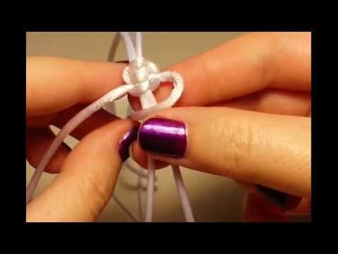 Tutorial como hacer nudo corredizo de macram youtube - Nudos marineros para pulseras ...