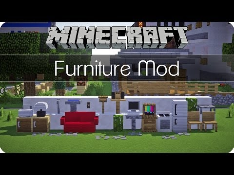 Möbel und mehr! - Jammy´s Furniture Mod - Minecraft Mod Review [DE] [HD]
