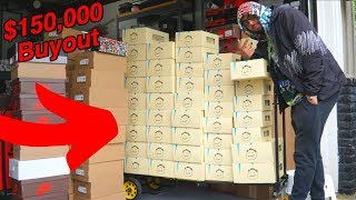 BUYING $150,000 WORTH SNEAKERS!!!!!