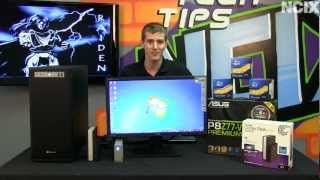 Thunderbolt Technology Introduction & Showcase Featuring ASUS P8Z77-V Premium NCIX Tech Tips