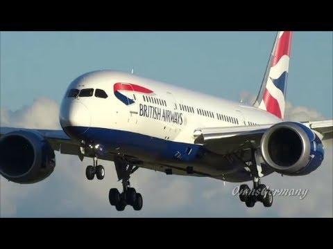 22 Boeing 787 Dreamliner Landings in 14 Liveries Compilation HD