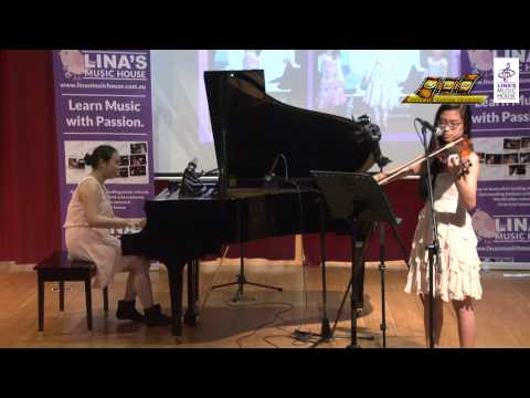 A town with an ocean - Priscilla Luu and Nhanai Nguyen (Piano and violin Duet)