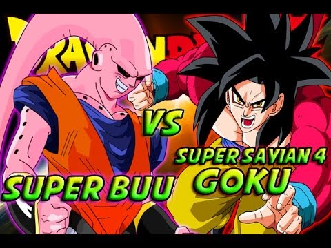 Dragonball Z: What If Battle - Super Saiyan 4 Goku Vs Super Buu