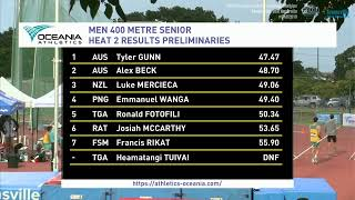 Live: 2019 Oceania Championships - Day 2 (Wednesday)