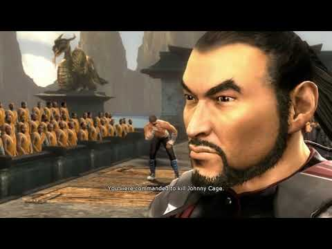 Let's Play Mortal Kombat 9 Story Mode Deutsch #04 - Cyrax