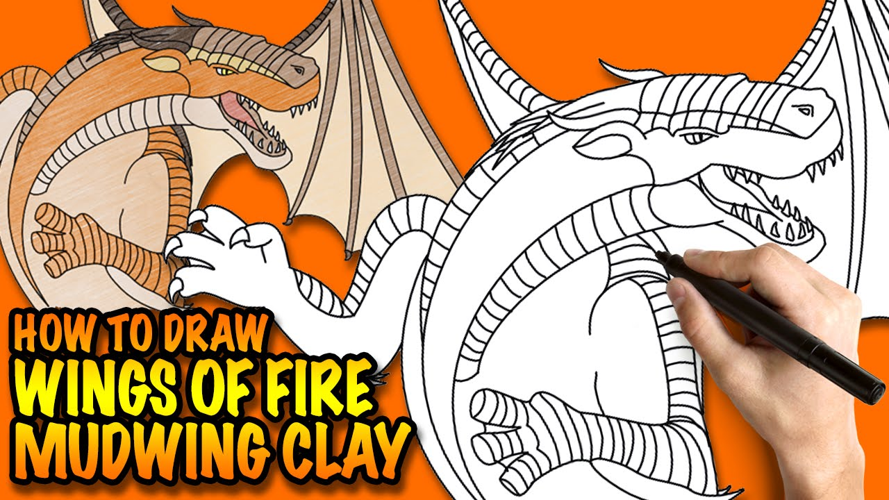 Fire Mudwing Wings of Fire Mudwing Clay